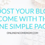 Boost your Blog Income by Adding this One Simple Page to your Blog